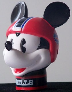 NFL 2 Buffalo Bills Mickey Mouse Antenna Toppers *SALE* Wincraft