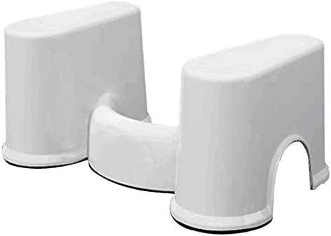 WDDMFR Toilet Aid Squatty, Toilettenhocker für das Bad Für Töpfchen Verhindern Sie Verstopfung und beschleunigen Sie den Stuhlgang