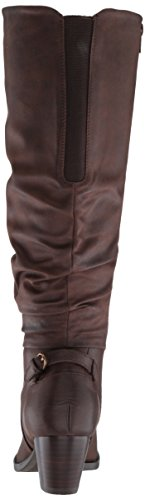 Brown Baretraps Riding Boot Respect Bt Dark Women's RCYRqB