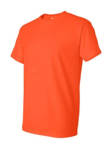 (Gildan Mens DryBlend 5.6 Ounce 50/50 T-Shirt G800 - Orange - Medium)