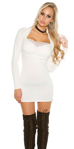 In-Stylefashion - Vestido - para mujer Weiß