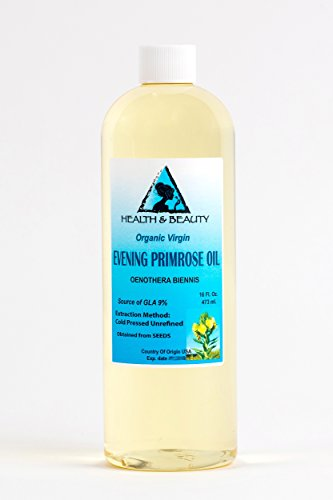 Evening Primrose Oil Organic Carrier Virgin Cold Pressed Pure 16 - Usps To Australia Us