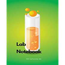 Lab Notebook 100 Carbonless Set: for students, chemistry