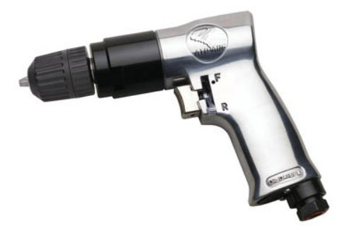 ATD Tools 2143 3/8'' Reversible Air Drill with Keyless Chuck by ATD Tools