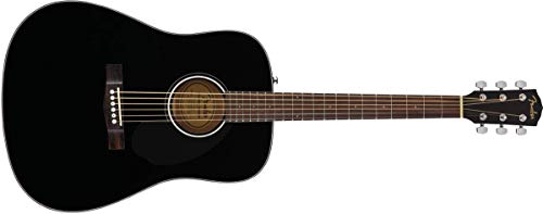 Fender Classic Design CD-60S Dreadnought Acoustic Guitar (Black)