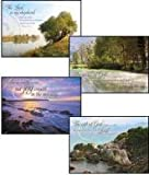 Boxed Gift Cards Sympathy-Peaceful Reflections (12 Pack)