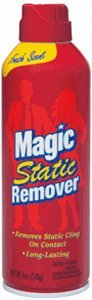Magic Static Remover 6 oz Cans (Pack of 2) (Carpet Static)