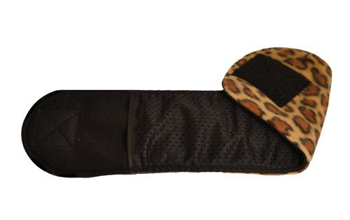 Picture of Cuddle Bands Premium Belly Band for Male Dog Training and Incontinence (Leopard Print) (Large 20-22