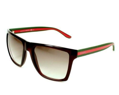 8340d0e8fae Gucci 3535 5D6 Brown 3535s Wayfarer Sunglasses - Buy Online in Oman ...