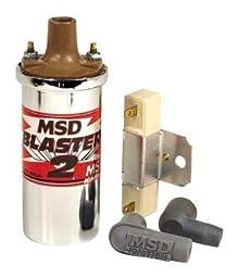 MSD 8200 Chrome Blaster Ignition Coil