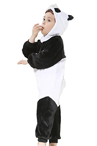 Christmas Dress Up Ideas (Qzerplay Unisex Baby Girls Boys' Panda Christmas Costumes Dress Up 110cm)