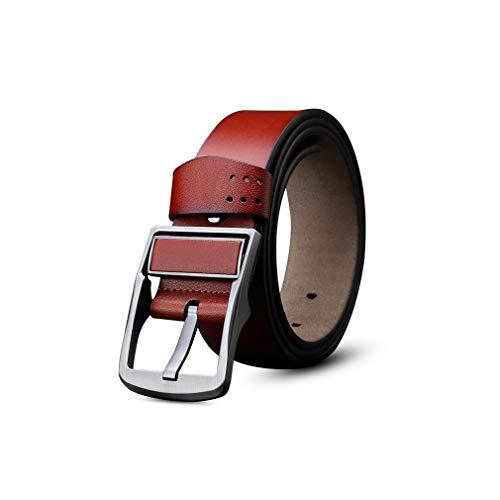 Pin Buckle Belt Mens Designer Belts Kovboy Kemeri Leather Luxury Brand Cowboy Belt
