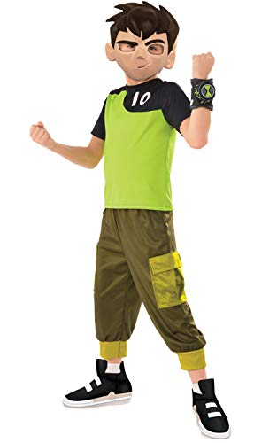 Ben Ten Costume (Rubie's Ben 10 Child's Ben Tennyson Costume,)