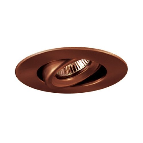 Jesco Lighting TM408AB 4-Inch Aperture Low Voltage Trim Recessed Light, Adjustable Gimbal Ring, Antique Bronze Finish by Jesco Lighting Group