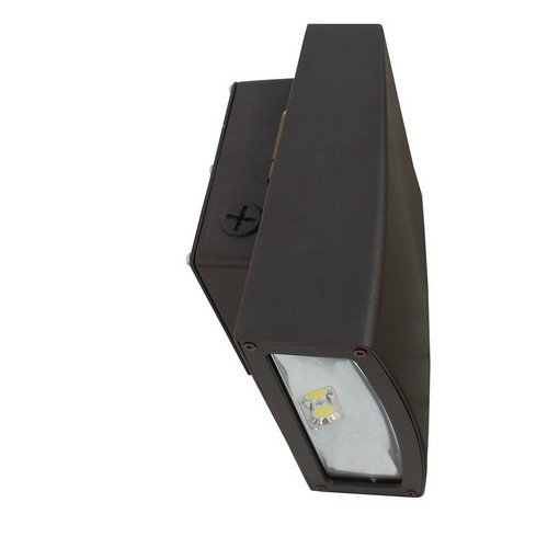 Morris 71390 LED Slim Line Combo Wallpack/Floodlight, 20W, 5000 K, 1874 lm, 120-277V, Bronze