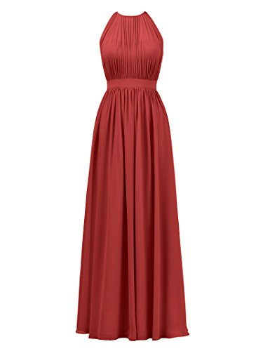 Chiffon Silk Prom Dress - 2
