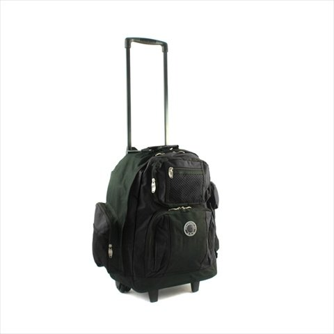 - Transworld Roll-Away Deluxe Rolling Backpack - Black