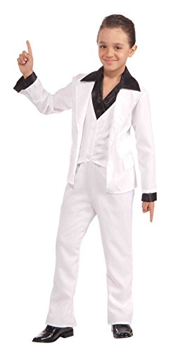 [Forum Novelties 70's Disco Fever Child Costume, Small] (Mens Disco Jumpsuit)