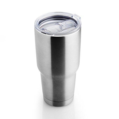 FortheChef 30 Oz. Stainless Steel Double-Wall Tumbler