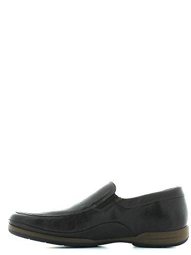 Mephisto RIKO STEVE 2651 DARK BROWN - Zapatillas de casa de cuero hombre Marrón