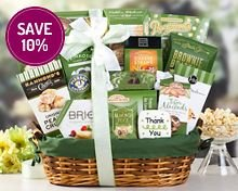 Many Thanks Gift Basket by Wine Country Gifts