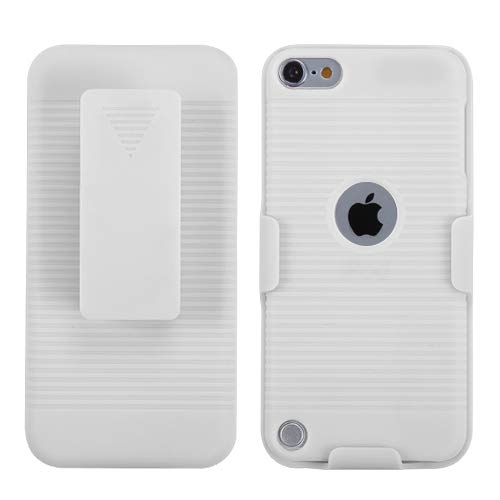 id Ivory White Hybrid Holster ( with Package ) for APPLE iPod touch (5th generation) ()