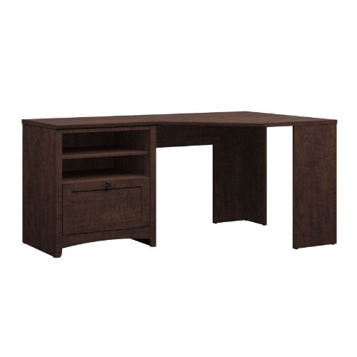 Buena Vista 60W Corner Desk in Madison Cherry