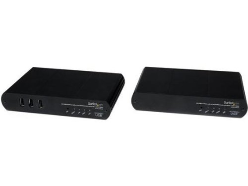 StarTech.com USB DVI KVM Console IP Extender over Cat5 with
