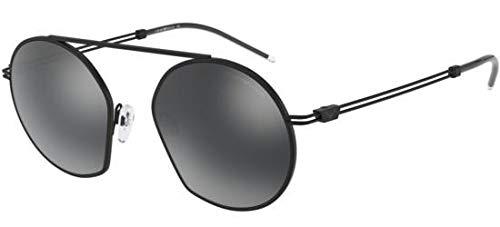 Emporio Armani 0EA2078 Gafas de sol, Matte Black, 50 para ...