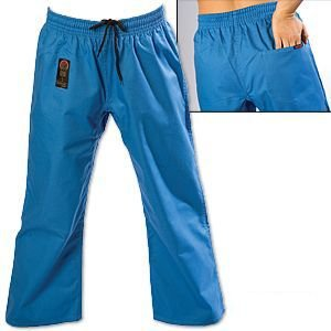Gladiator ProForce 8oz Combat Karate Pants Blue size 5 by Gladiator