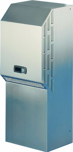 Rittal 3305504 304 Stainless Steel Top Therm Wall Mounted NEMA 4X Air Conditioner with Comfort Controller, 15-15/16'' Width x 40-5/32'' Height x 14-5/64'' Depth, 5157 BTU, 230 V, 50/60 Hz by Rittal