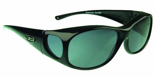 24b983d431 Jonathan Paul Fitovers Medium Element Matte Black Polarized Gray Sunglasses