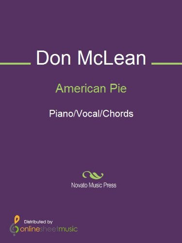 American Pie Kindle Edition By Don Mclean Arts Photography