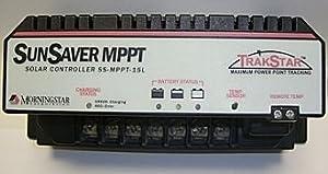 MORNINGSTAR CORPORATION SS-MPPT-15L Energy solar-charge-controllers SunSaver MPPT 15 Amp 12/24 Volt PWM Solar Controller