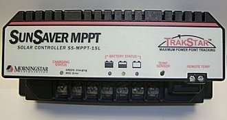 MORNINGSTAR SS-MPPT-15L SunSaver MPPT 15 Amp 12/24 Volt PWM Solar Controller - 1 item(s) by MORNINGSTAR