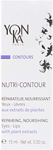 YON-KA - Contours Nutri-Contour - Eye and Lip Contour Cream That Hydrates and Repairs While Minimizing the Appearance of Lines and Wrinkles ( 0.5 Ounce / 15 Milliliters )