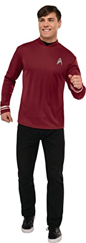 Original Series Star Trek Costumes (Rubie's Costume Co. Men's Star Trek: Beyond Scotty Costume Shirt, As Shown, Standard)