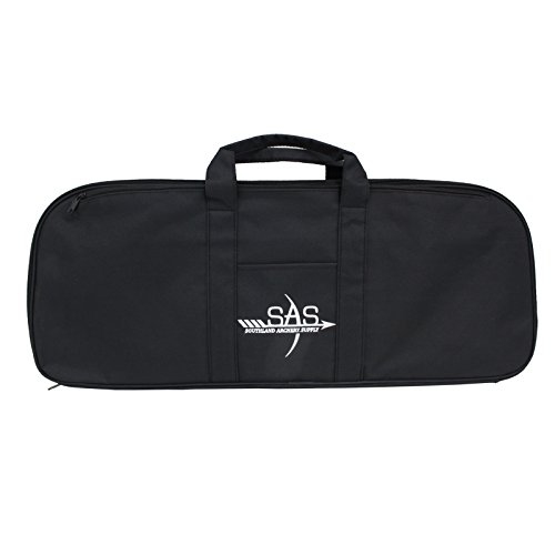 Southland Archery Supply SAS Premium Recurve Takedown Bow Case with Pre-Cut Foam (Black)