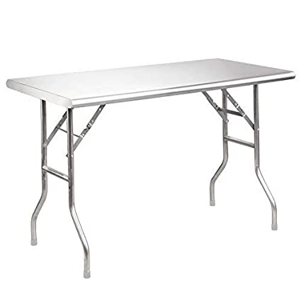 Amazon Com Royal Gourmet Stainless Steel Work Table Utility
