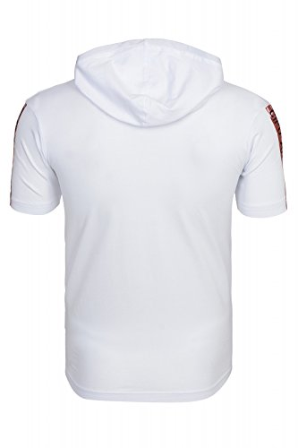 Cipo & Baxx Hombres Camiseta Destroyed Weiß
