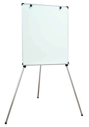 Magnetic Dry-Erase Board Lightweight Aluminum Flip Chart Presentation Easel, 31