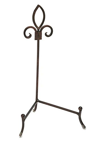 Tripar 54531 Small York Platter and Metal Bowl Stand
