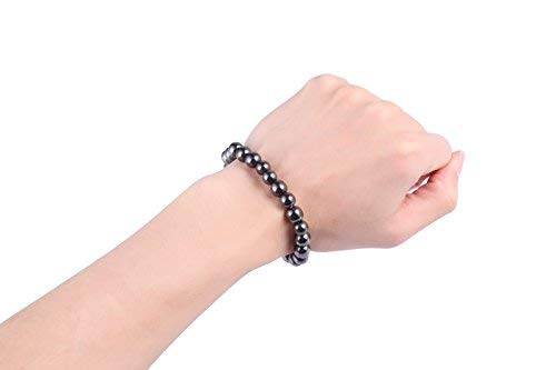 Dr. Kao 2 Pack Magnetic Therapy Bracelet for Women/Man, One Bigger Size for Man, One Smaller Size for Women for Arthritis Pain Relief Magnets for Anxiety Relief for Carpel Tunnel ()