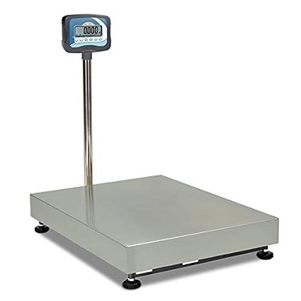 Báscula monocélula industrial columna TMZ150G (150Kgx20g) (60x50cm ...