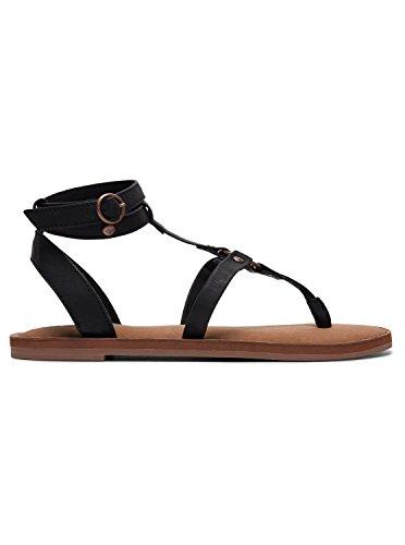 Arjl200622 Soria Noir Black Femme Sandales Roxy HatwZ60qn