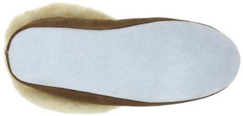 Shepherd MOA 724 - Zapatillas de casa para mujer Marrón (Antique Cognac 52)