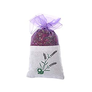 Sevem-D New Rose Lavender Dried Flower Bud Aromatherapy Sachet Air Refreshing,Black 91