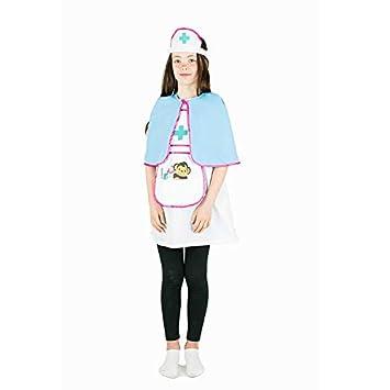 Bodysocks® Disfraz de Enfermera Niña (4-6 años): Amazon.es ...