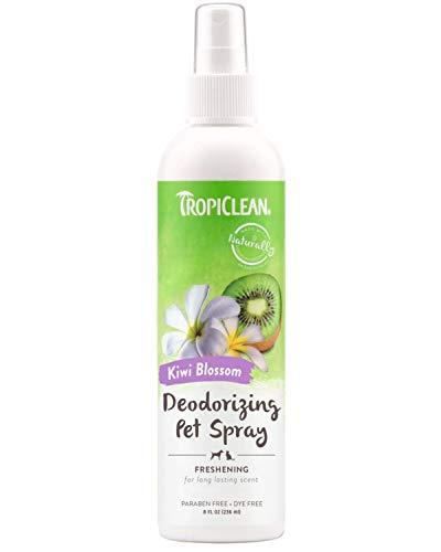 (TropiClean Kiwi Blossom Deodorizing Spray for Pets, 8oz)