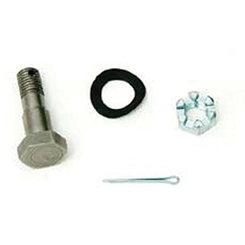 (Eckler's Premier Quality Products 40-166324 Full Size Chevy Power Brake Bolt Kit, Push Rod-To-Pedal Bracket, Treadle Vac,)
